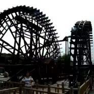 """""""五一""""前兰州水车博览园水车修复后全部正常运转"""